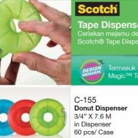 Tape - Scotch - Donut Dispenser Magic Tape