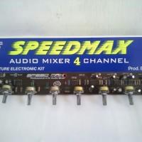 Kit audio mixer 4 channel