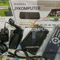 TV TUNER EXTERNAL GADMEI 5821 untuk Monitor CRT LCD Antena FM