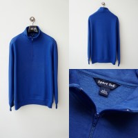 Sportek 1/4 Zipper Sweatshirt Blue ORIGINAL