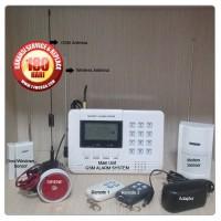 HOME SECURITY GSM ALARM SYSTEM UNTUK PENGAMANAN RUMAH TOKO KANTOR PA