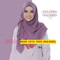 RABBANI Kerudung Jilbab Hijab Segi Empat Segiempat Polos Zahira Sold