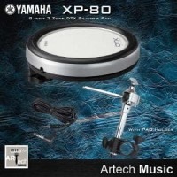 Yamaha DTX XP-80 + Snare Holder , E-Drum TCS Pad 3 Zone 8 Inch untu