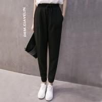 celana jogger wanita fashion import kulot pants celana panjang murah