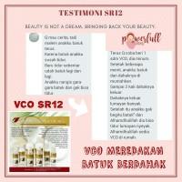 VCO SR12 Kapsul 100 butir - Minyak Kelapa Murni