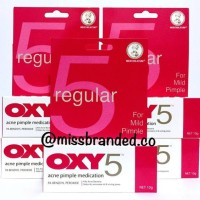 OXY 5 / OXY5 - Acne Pimple Medication For Mild Pimple - 10gram