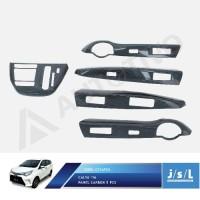 (Interior) Toyota Calya Panel Carbon Interior 5 Pcs JSL