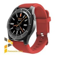 Smart watch G8 - Heart Rate Smartwatch G8 Jam Pintar Merah Sim Card