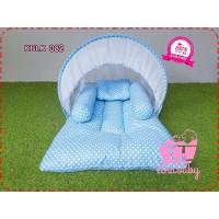 Kasur Bayi Karakter Terbaru POLKADOT BLUE KBLK 082 | Tempat Tidur Bayi