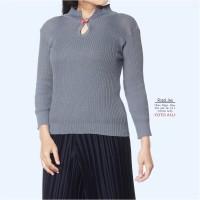 Rosalina Grey / Baju Rajut Wanita / Baju Rajut Milea / Grosir Rajut