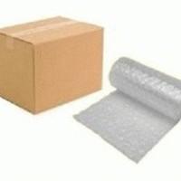 Packing Dus 20 x 15 x 8 Cm + Bubble Wrap Untuk Keamanan Pengiriman