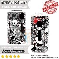 Original Garskin Tesla WYE 200W TC Box Mod Free Custom Gambar - Doodle