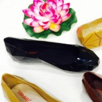 B60-NB sepatu prisma jelly bara bara flat shoes