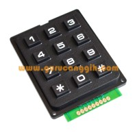 Keypad Matriks (Matrix Keypad) 3x4 / 4x3 for Arduino