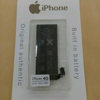 Baterai Original Iphone 4G / APN 616-0520/battrey/batre/batrai hp
