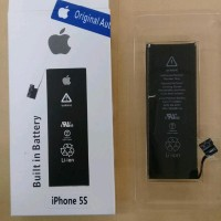 Baterai Original Iphone 5S / APN 616-0721/battrey/batrai/batre hp