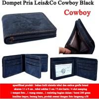 Dompet Pria Murah Leis&Co cowboy black