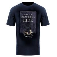 Kaos Honda Scoopy LBR T-Shirt Navy - TS678