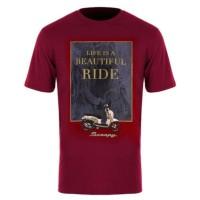 Kaos Honda Scoopy LBR T-Shirt Maroon - TS679