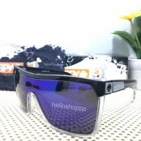 Kacamata Flynn Blue Polarized Lens / sunglasses spy lensa besar biru