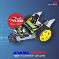 Robot Edukasi Lite Version Anami Line Follower Arduino Uno R3