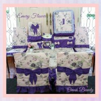 Dining Room Set Motif Emery Flower