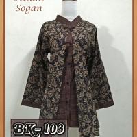 Blouse Batik Pekalongan/ Atasan Batik Wanita/ Blouse Batik Wanita 103