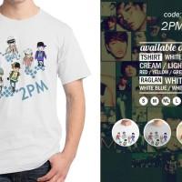 Jual Kaos 2PM - Tshirt Oblong KPOP - Baju Distro Rivrez Murah