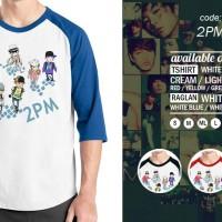 Jual Raglan 2PM - Tshirt KPOP - Baju Kaos Oblong Distro Rivrez Murah