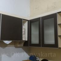 Kitchen Set/Lemari Dapur Atas Minimalis Modern Multipleks HPL