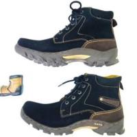Sepatu Boots Pria Gats PRB 7151 Hitam
