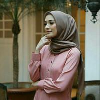 Hijab Bahan Voal Polos 14