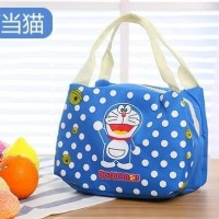 Tas Bekal Anak Doraemon/ Cooler Bag Doraemon/ Tas Cooler menjaga suhu