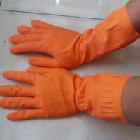 Sarung tangan Karet bahan elastis / sarung tangan kamar mandi