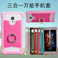 Soft Case Plus Ring Universal - Case Silikon All Type HP UNIVERSAL