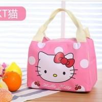 Cooler bag/ tas dengan lapisan penahan panas dingin/ Lunch Bag anak