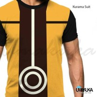 Harga kaos kurama suit baju naruto shippuden umakuka 3d   antitipu.com