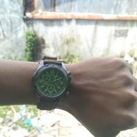 Timex Mens TW4B01500 Expedition Sierra Tan/Black Leather Strap Watch