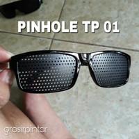 kacamata pinhole tp 01 terapi mata minus dan silinder