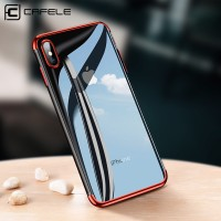 iPhone X Transparan back cover soft case hp ultra thin slim CAFELE TPU