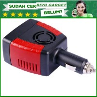 CAR CHARGER HP + LAPTOP POWER CAR INVERTER 150W 220V AC