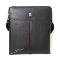 Tas Kulit Pria Slimbag Bodybag Import Branded   AIGNER 5602-1 BLACK