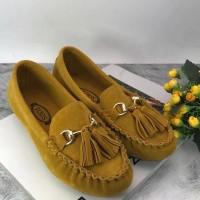 Harga sepatu flatshoes tassel fashion import | Pembandingharga.com