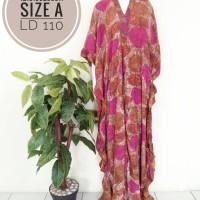 INKF001 Kaftan Paris Pakaian Modern Wanita Baju Jumbo Murah Big size