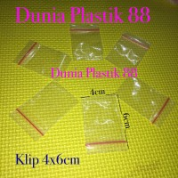 100pc PLASTIK KLIP 4x6CM clip ziplock zipper segel sealer KECIL MINI