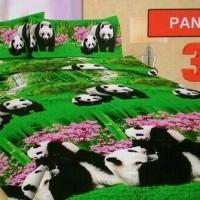 Bedcover set bonita panda 3D king size