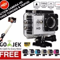 EXCLUSIVE Kogan Camera Action Sport HD Bonus Tongsis Tripod HOT PRODU