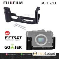 Lplate Grip Fujifilm XT20 XT10 Bricket L-Plate Plate Fuji