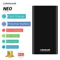 EXCLUSIVE Power Bank Delcell NEO at Tokopedia Real Capacity 10000mAh