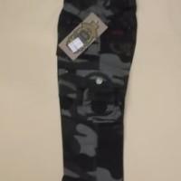 Celana Panjang Celana Cargo Anak Bahan katun 3 4 5 Tahun Motif Army